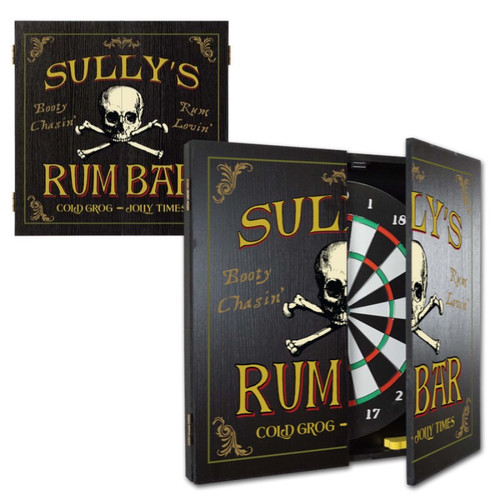 Personalized Dart Board - Rum Bar