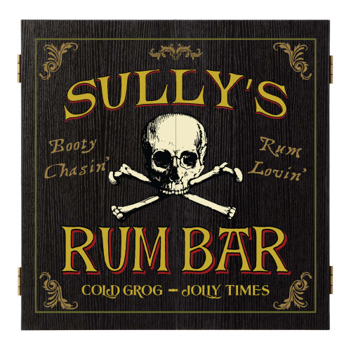 Personalized Dart Board - Rum Bar