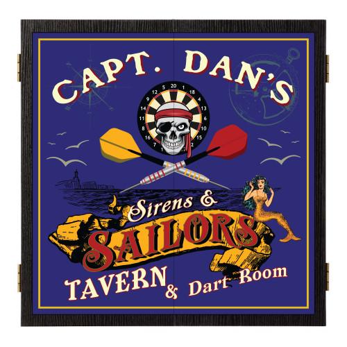 Personalized Dart Board - Sailor's Tavern
