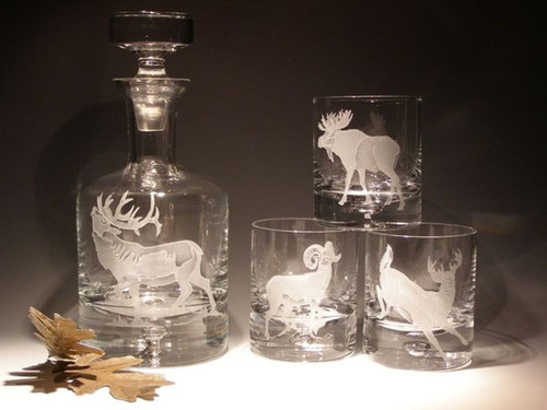 Shown with Rocks Glasses (Not Included)