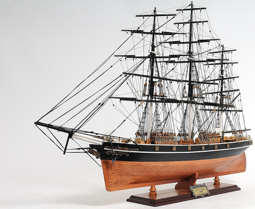 Cutty Sark Sailess Model Ship - 24.5""