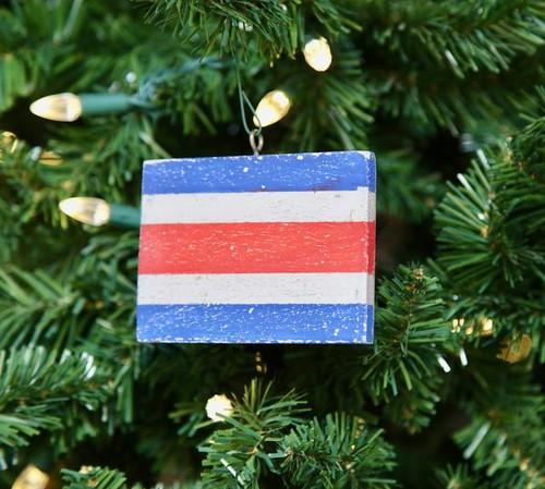 Nautical Signal Flag Ornament - Letter C