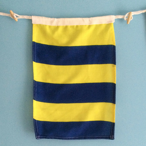 Nautical Signal Flag - Framed - Letter G