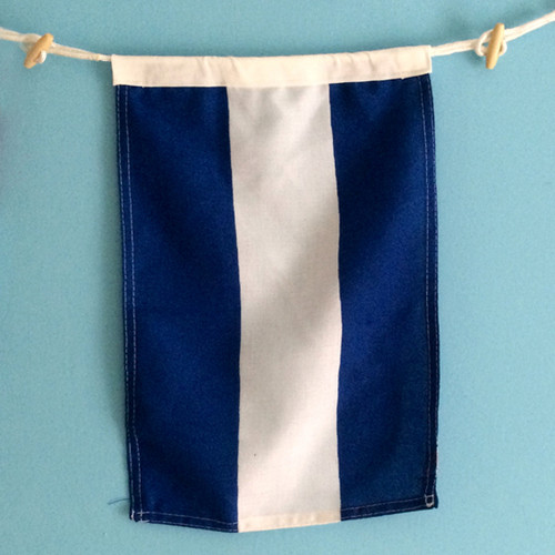 Nautical Signal Flag - Framed - Letter J