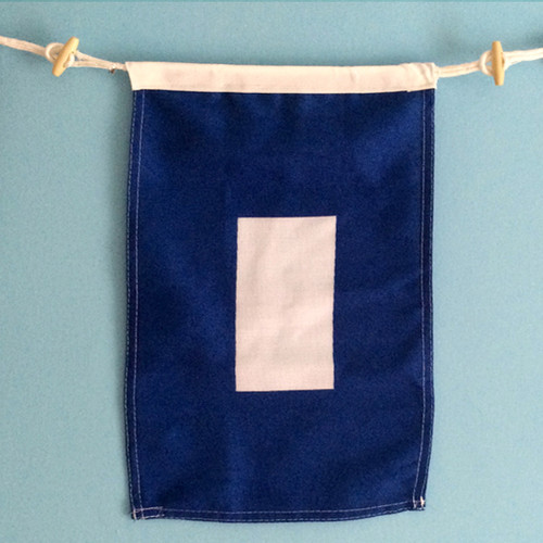 Nautical Signal Flag - Framed - Letter P