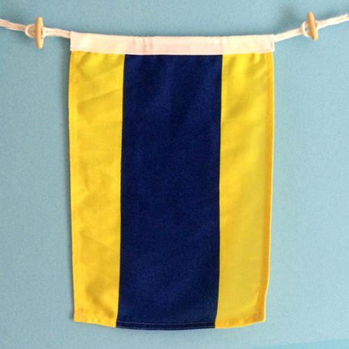 Nautical Signal Flag - Letter D