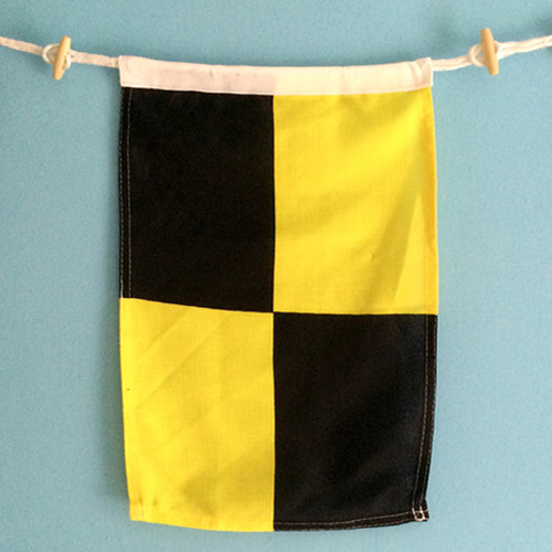 Nautical Signal Flag - Letter L