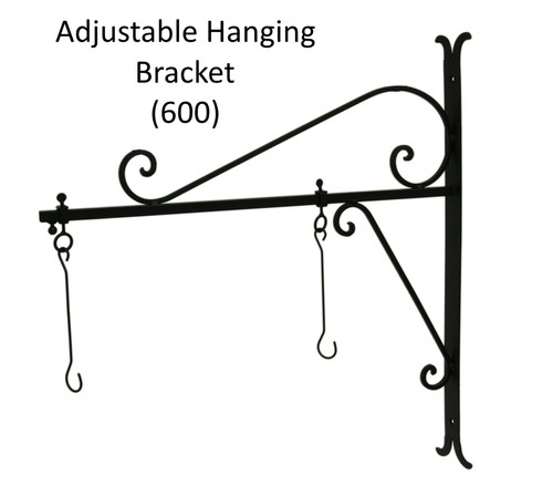 (MDH-600) Adjustable Hanging Bracket for (MAL-179) Extra Large Polished Aluminum Hanging Whale with Chain (Sold Separately)