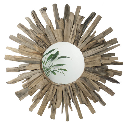 "(MS-266) Large 28"" Driftwood Mirror"