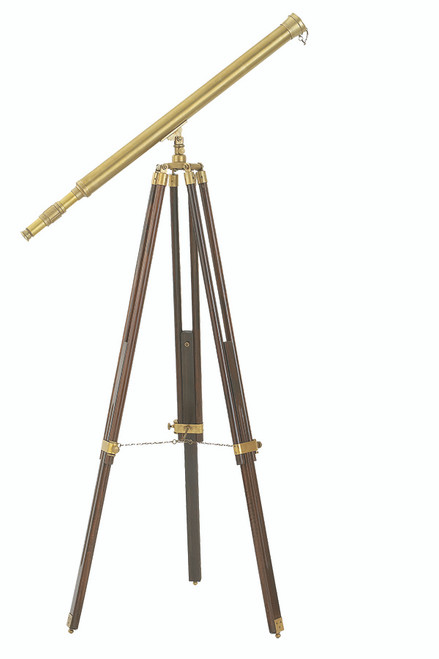 "(Z-023) 39"" Harbor Master Telescope with 28x Power and Adjustable Tripod"