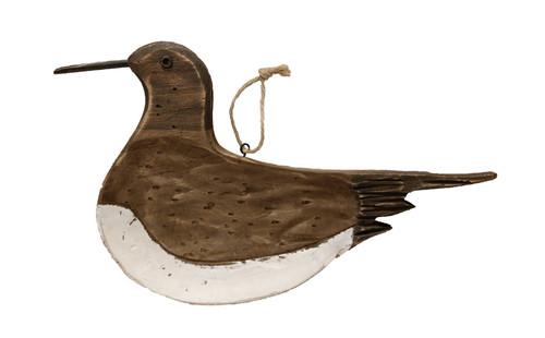 """(WW-35) 14"""" Wooden Seagull Wall Sculpture"""