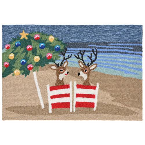 Frontporch Coastal Christmas Indoor/Outdoor Rug