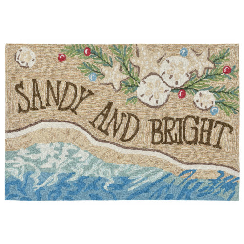 "Frontporch ""Sandy and Bright"" Indoor/Outdoor Rug"