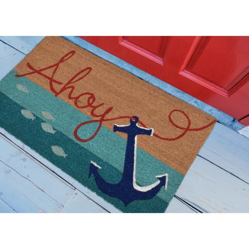 "Natura ""Ahoy"" Indoor/Outdoor Rug - Lifestyle"