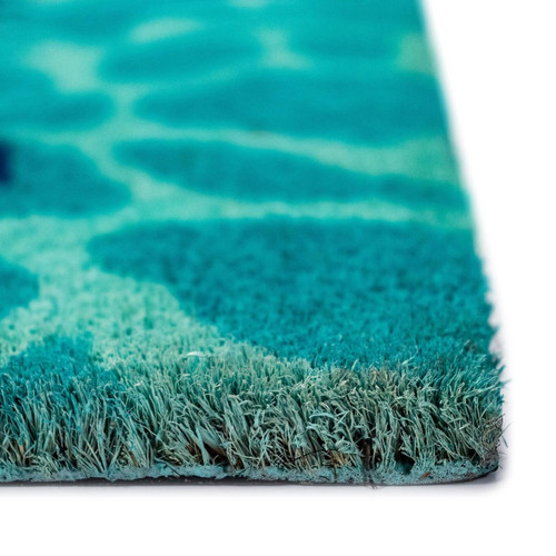 "Natura ""This Way to the Pool"" Indoor/Outdoor Rug - Pile"