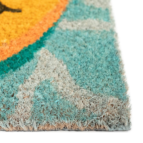"Natura ""This is Our Happy Place"" Indoor/Outdoor Rug - Pile"