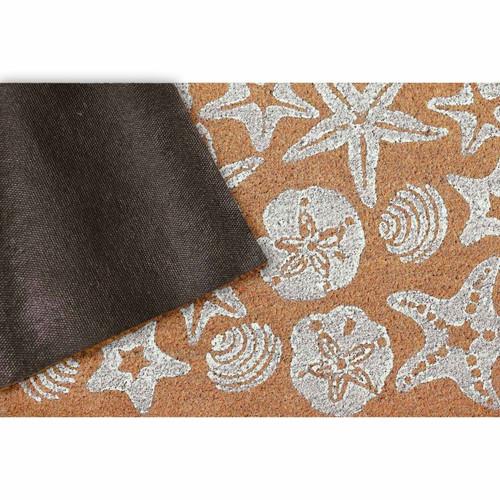 Natura Seashells Indoor/Outdoor Rug - Back