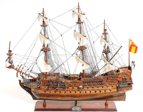 "San Felipe Model Ship - 35"" Exclusive Edition"