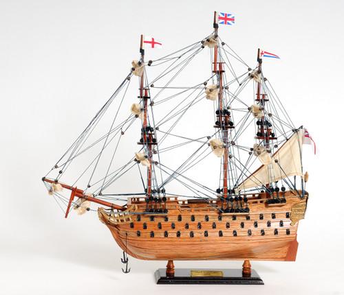 "HMS Victory Model Ship - 18"""