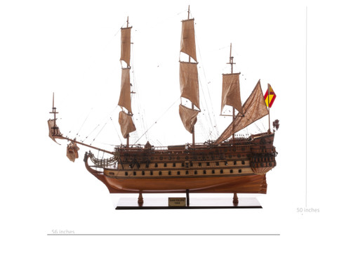 "San Felipe Model Ship - 50.5"" Extra Large Limited Edition"