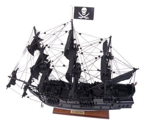Black Pearl Pirate Ship Model Ship - 19""