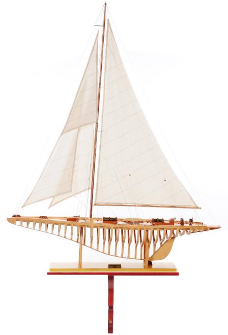 "Shamrock Open Hull Model Ship - 46"""