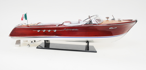 Painted Riva Aquarama - RC Ready - 35""