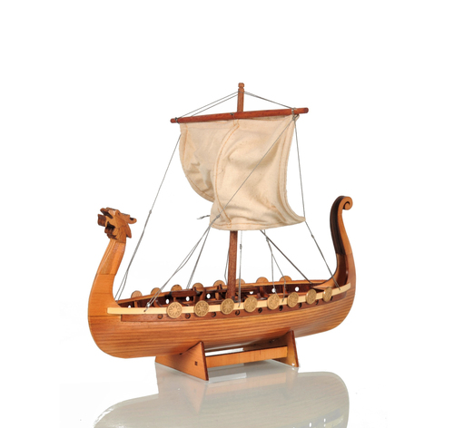Drakkar Viking Model Ship - 12""