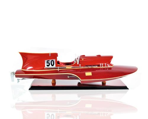 "Ferrari Hydroplane Model - 23.5"""
