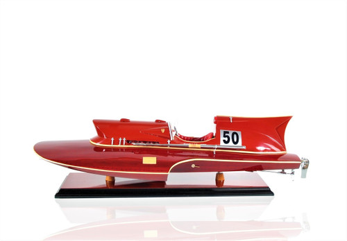 Ferrari Hydroplane Model - Example Image for Custom Made Model Ship