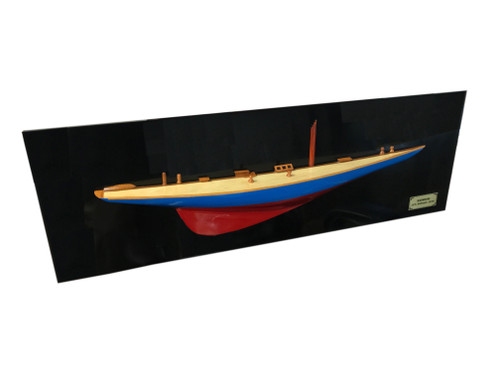 Rainbow Half-Hull Scaled Model Boat - 35.5""