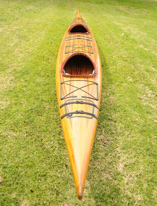 Tandem Wooden Kayak - 19' (K003)