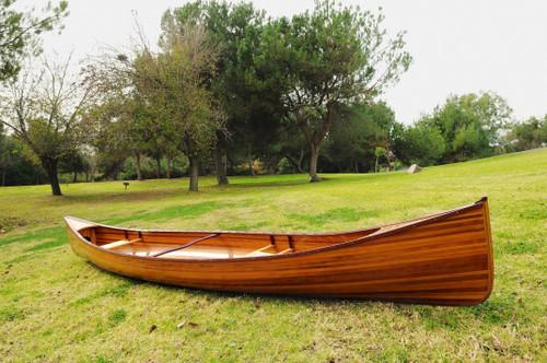 Wooden Canoe - 16' (K005)