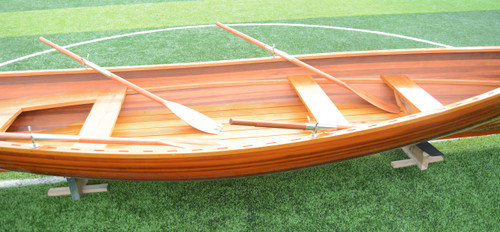 Whitehall Dinghy with Transom Cut-Out - Motor Ready - 17'