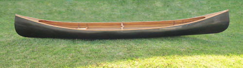 Wooden Canoe - Dark Stained Finish - 18' (K045)