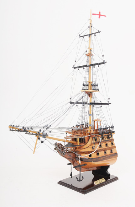"""HMS Victory Model Ship - Bow Section - 28"""""""