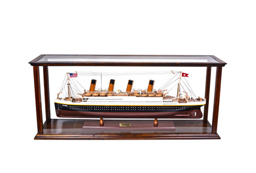 Display Case for Small to Midsize Cruise Liner - Classic Brown (P096)
