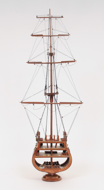 """USS Constitution Model Ship - Cross Section - 34"""""""