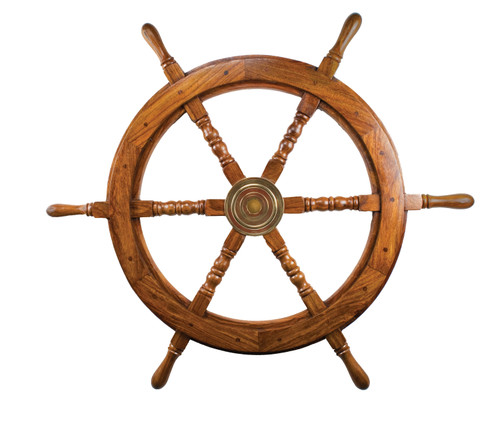 Wooden Ship Wheel  - 30""