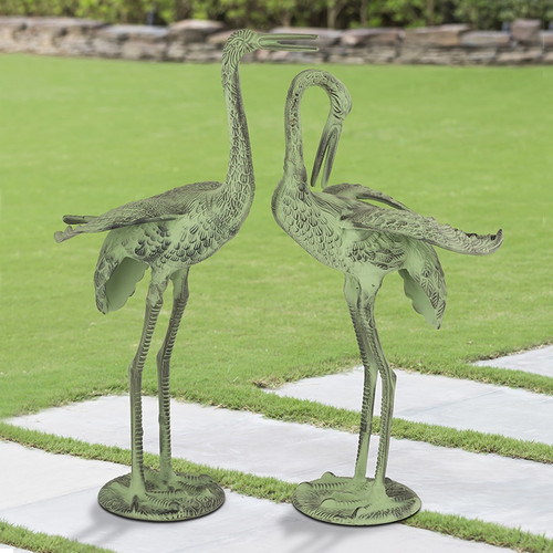 Hungry Cranes - Set of 2