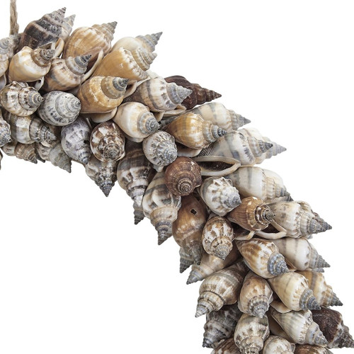 Brown Chula Wired Wreath - 8""