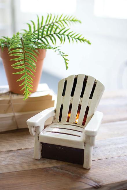 Ceramic Adirondack  Chair Night Light