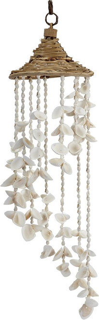 "White Shells Hat Chime - 24"" - Set of 2"