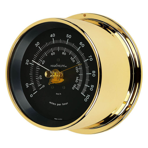 Criterion Air Temperature Reading Instrument - PVD Coated Brass Case - Black Face