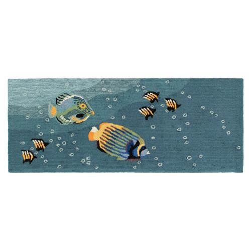 Frontporch Aquarium Ocean Indoor/Outdoor Rug - 4 Sizes