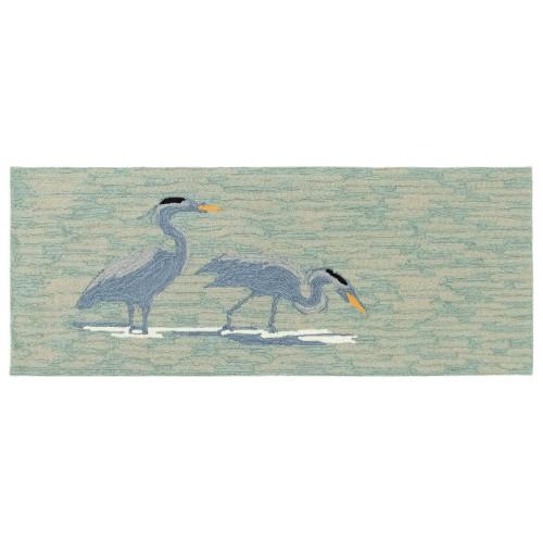 Frontporch Blue Heron Lake Indoor/Outdoor Rug - 4 Sizes