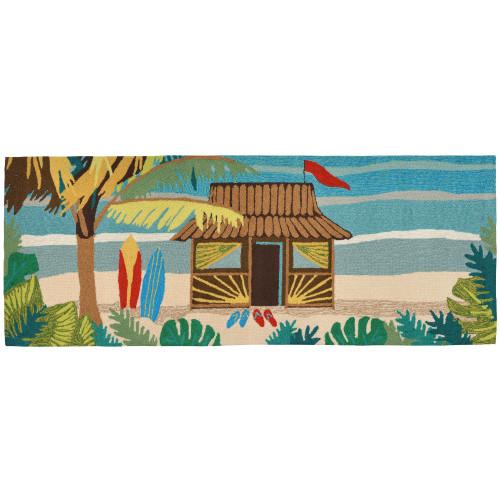 Frontporch Tiki Hut Indoor/Outdoor Rug - 4 Sizes