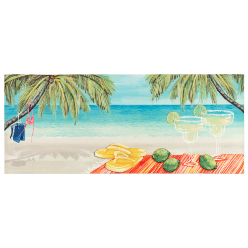 Illusions Beach Party Indoor/Outdoor Rug - 4 Sizes