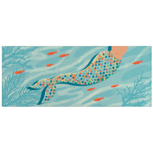 Illusions Mermaid at Heart Indoor/Outdoor Rug - 4 Sizes