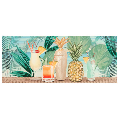 Illusions Tropical Patio Party Indoor/Outdoor Rug - 4 Sizes